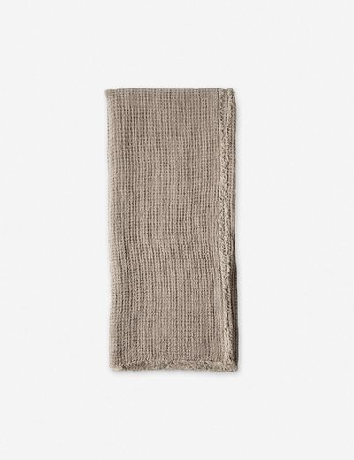 Pom Pom at Home Venice  Throw, Taupe