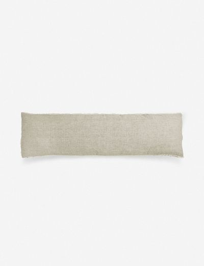 Pom Pom at Home Logan Body Pillow, Olive