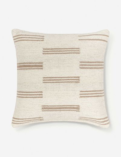 Stripe Break Pillow By Sarah Sherman Samuel