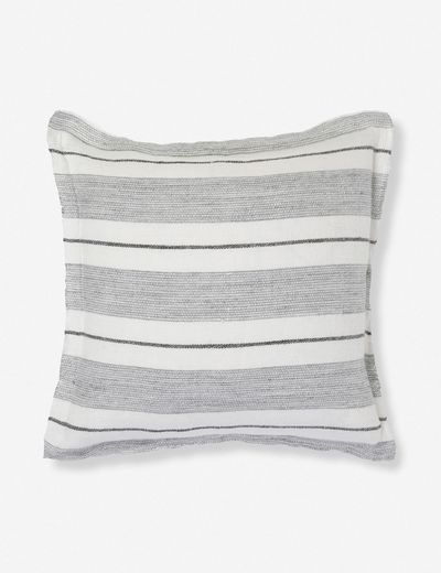Pom Pom at Home Laguna Pillow, Charcoal