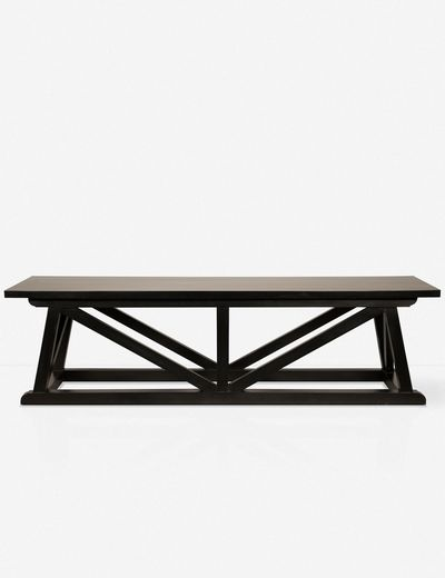 Welsee Bench, Hand Rubbed Black