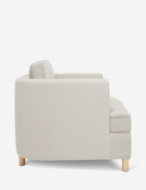Belmont Accent Chair, Natural By Ginny Macdonald
