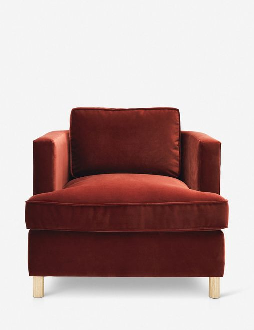Belmont Accent Chair, Paprika By Ginny Macdonald