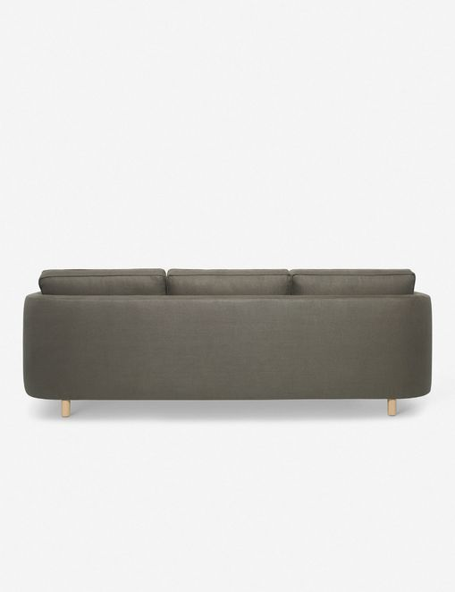Belmont Left-Facing Sectional Sofa, Loden By Ginny Macdonald