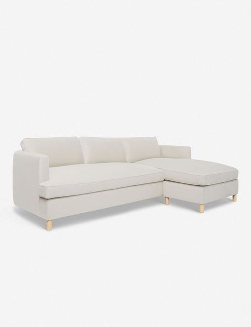 Belmont Right-Facing Sectional Sofa, Natural By Ginny Macdonald