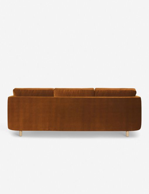 Belmont Right-Facing Sectional Sofa, Cognac By Ginny Macdonald