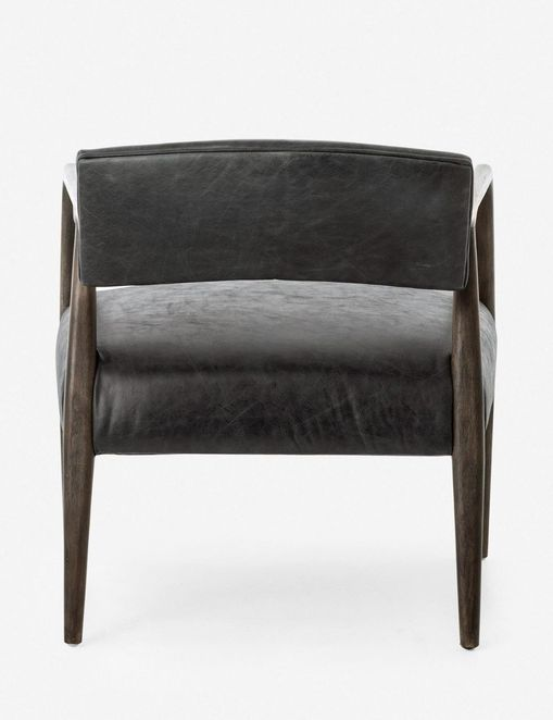 Larabee Leather Accent Chair