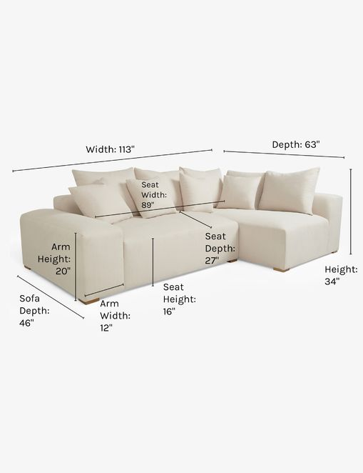 Clayton Right-Facing Sectional Sofa