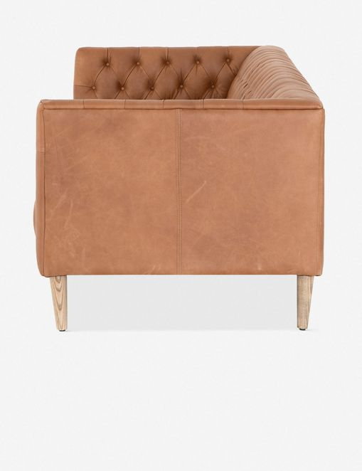 Breanne Leather Sofa