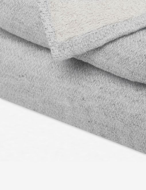 Claire Hand Towel, Silver Gray