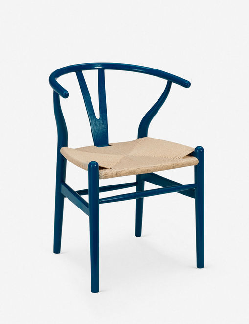 Cylia Dining Chair, Midnight Blue (Set of 2)