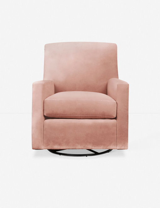 Ellia Glider Chair, Pink