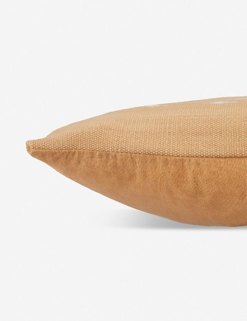 Lina Lumbar Pillow, Light Tan