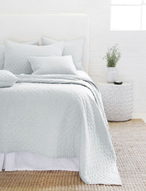 Pom Pom at Home Hampton Coverlet, Ocean
