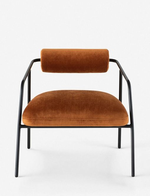 Sharnee Accent Chair, Rust