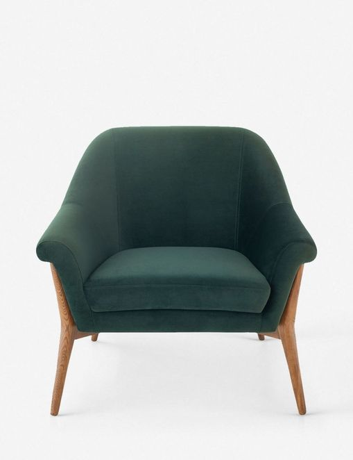 Taitum Accent Chair, Emerald Green