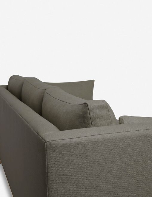 Hollingworth Left-Facing Sectional Sofa, Loden By Ginny Macdonald