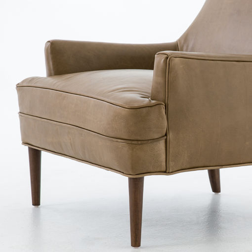 Ilona Leather Accent Chair