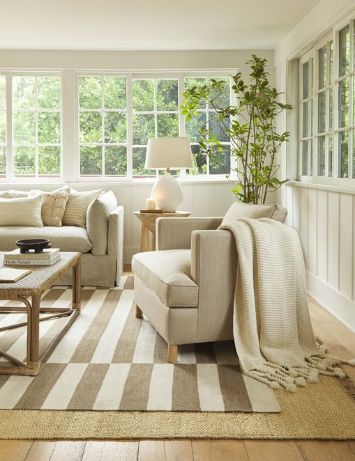 Belmont Accent Chair, Stripe By Ginny Macdonald