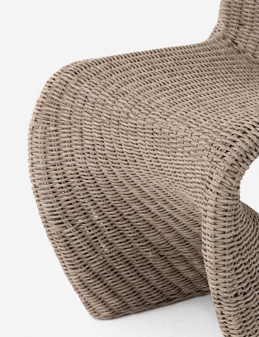 Manila Indoor / Outdoor Dining Chair, Natural