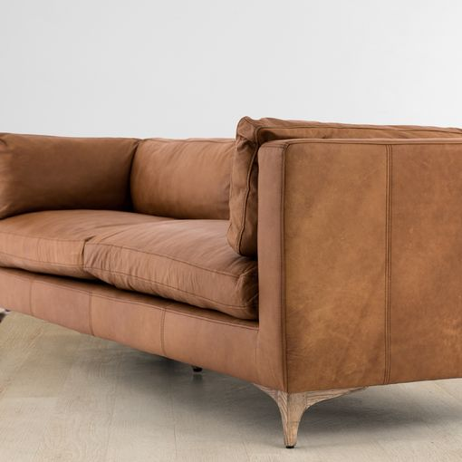 Jocelyn Leather Sofa