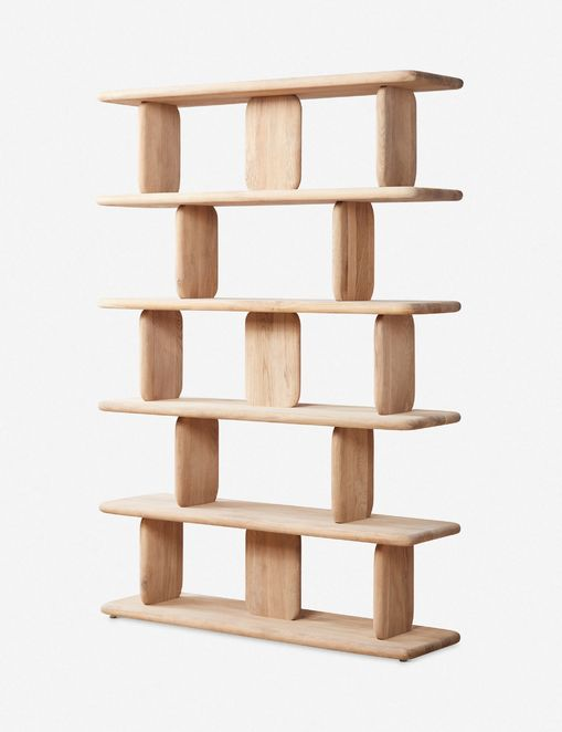 Nera Bookcase, Natural