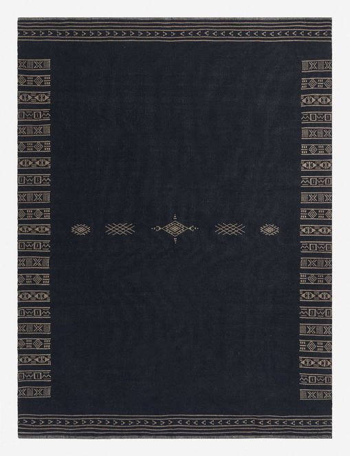 Mindi Reversible Indoor / Outdoor Rug, Indigo