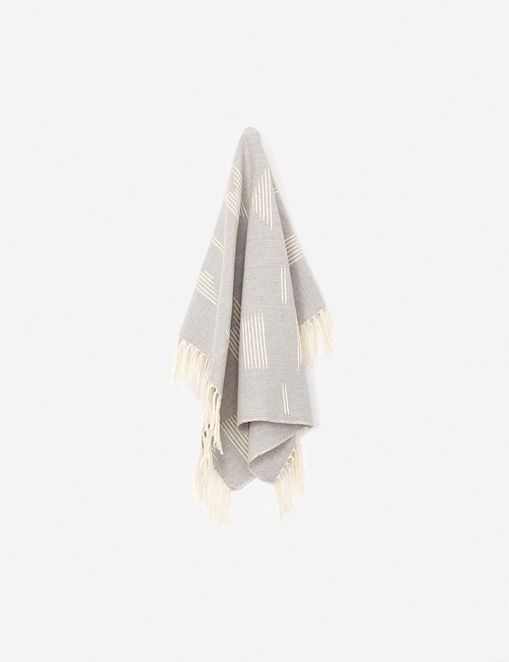 MINNA Shapes Towel, Gray