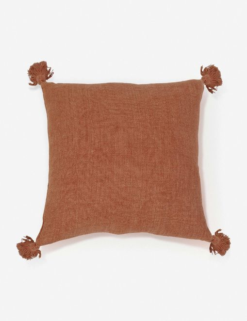 Pom Pom at Home Montauk Pillow, Terra Cotta