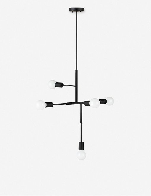 Nillie Pendant Light, Black