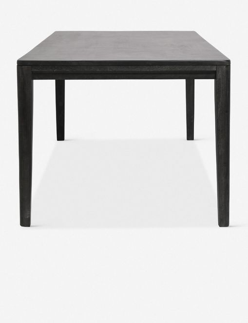 Reese Dining Table, Black