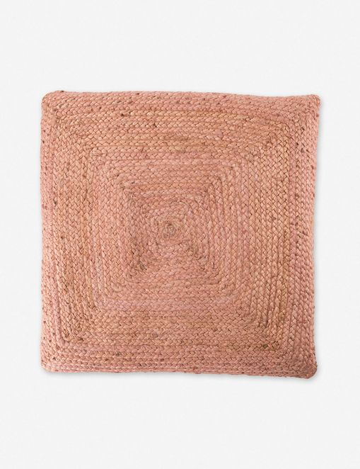 Candess Floor Pillow, Pink