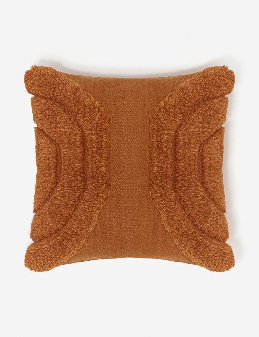 Arches Pillow, Rust By Sarah Sherman Samuel
