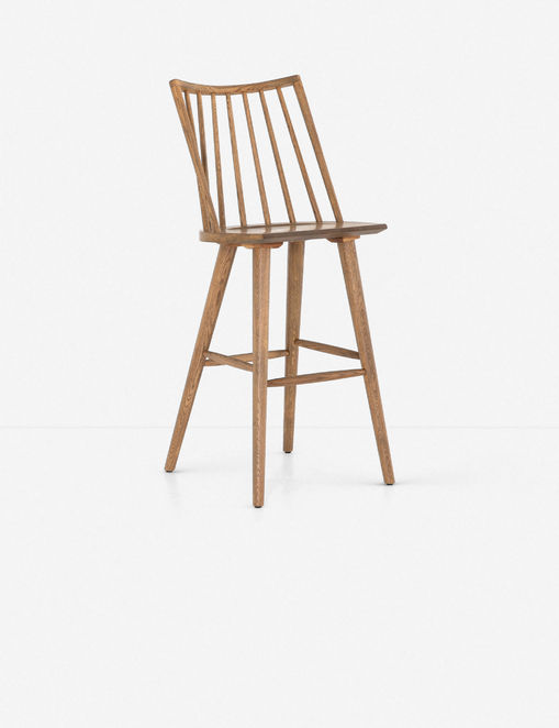 Lanae Bar Stool, Sandy Oak