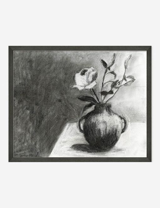 'Still Life with Flowers' Wall Art by ZBC House