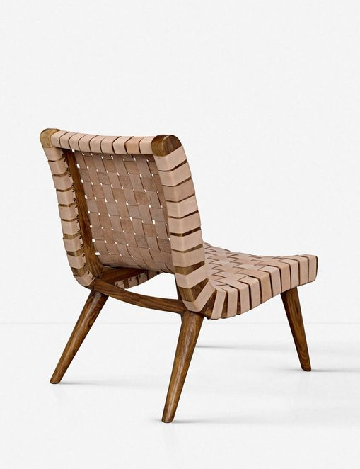 Tiyana Leather Accent Chair