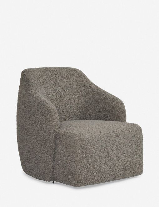 Tobi Swivel Chair, Gray
