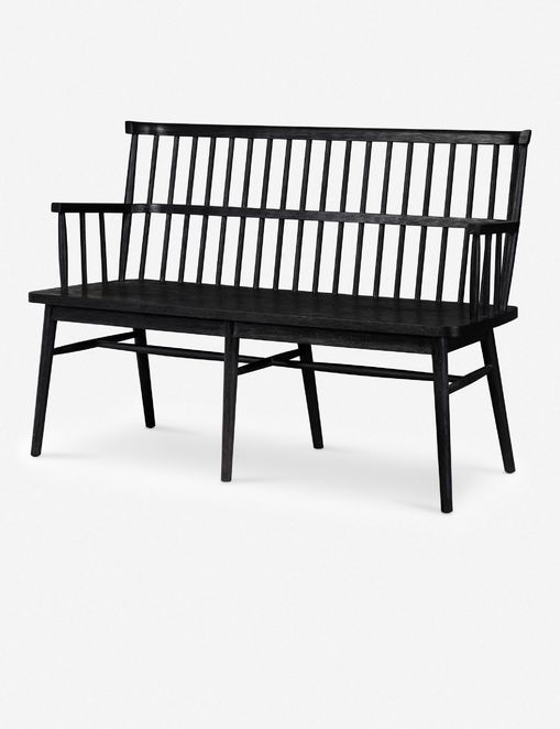 Lanae Bench, Black