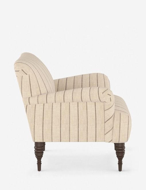 Vyolet Accent Chair, Fritz Charcoal