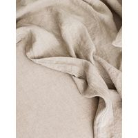Cultiver Linen Bedding, Natural Flat Sheet