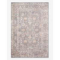 Roze Rug, Grey and Apricot