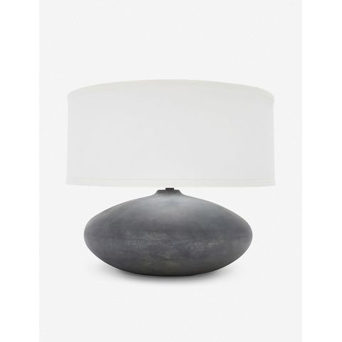 Payal Wide Table Lamp, Alabastrino