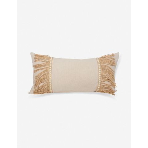 Baia Linen Lumbar Pillow
