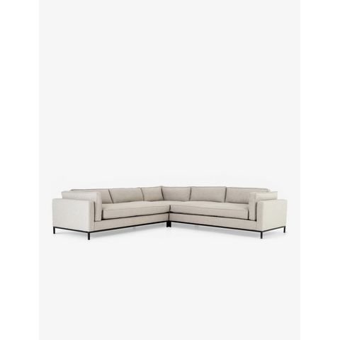 Fritzie Corner Sectional Sofa, Natural