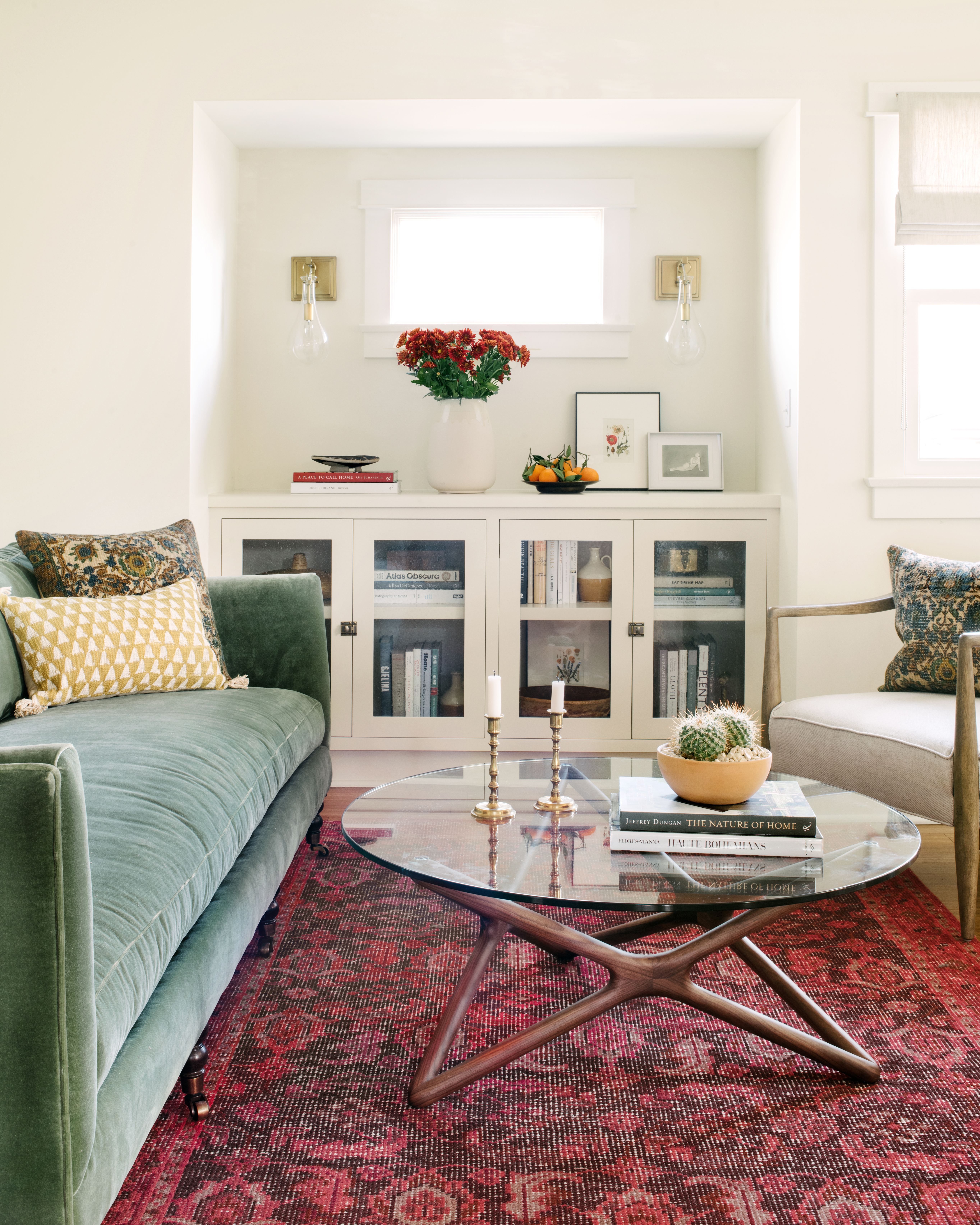 Stories Actress Floriana Lima S Home Gets A Jewel Toned Update
